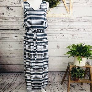Sonoma • Striped Jersey Maxi Dress